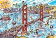 Cartoons and painted